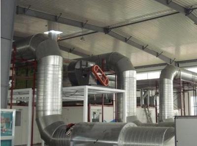 不锈钢螺旋风管工程